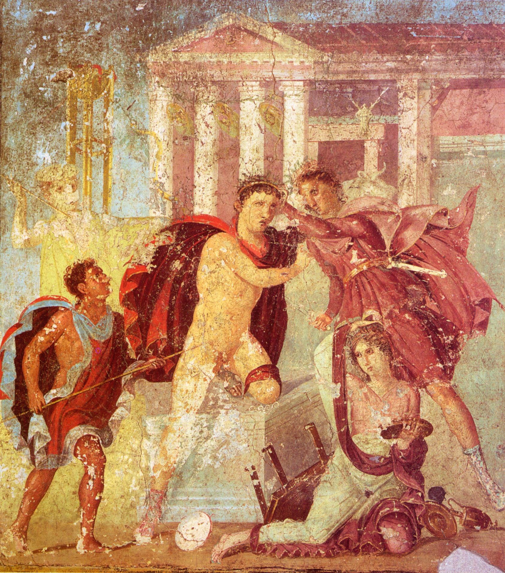 Αποτέλεσμα εικόνας για ερμιόνη μυθολογία