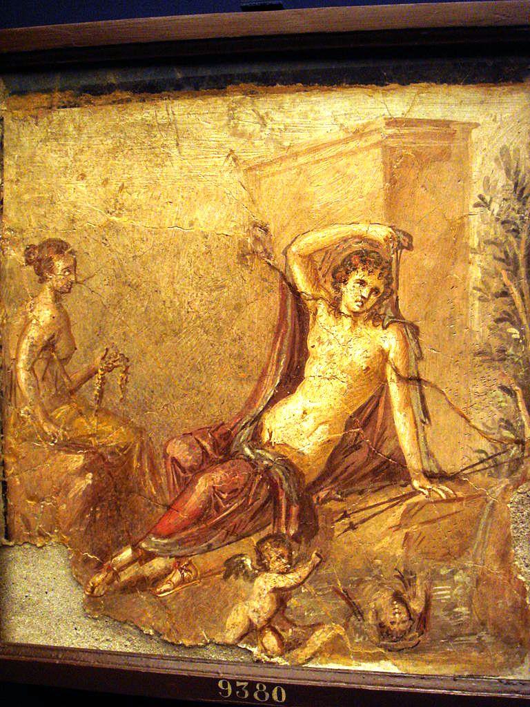 древние эро фрески фото римских борделей книжка